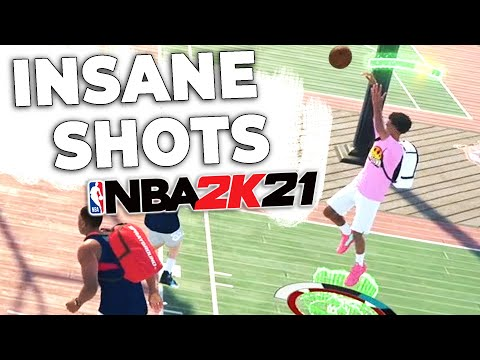 I ve been making INSANE SHOTS in NBA2K21