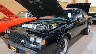 Buick GNX #547  Sold $220 000