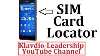 Sony Xperia C4 E5306 Single SIM Card Slot Location