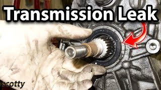 How to Fix a Transmission Leak in Your Car (Output Shaft Seal)
