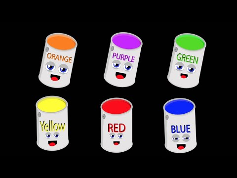 Primary Colors Song for Kids/Secondary Colors