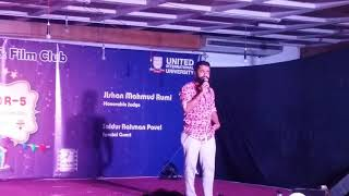 Mirakkel Star Saidur Rahman Pavel at UIU  2017