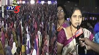 Christmas Celebrations In Calvary Temple | Hyderabad | TV5 News