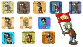 Plants vs. Zombies 2 Demonstration minigame mashup Ancient Egypt-Modern Day