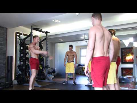 Xxx Mp4 Englishlads Ripped And Stripped Part One Warm Up With PT Callum Stuart 3gp Sex