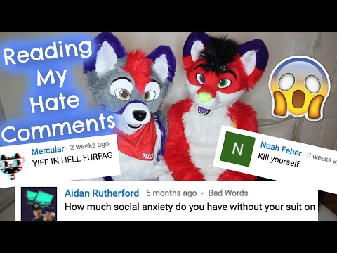 READING MY HATE COMMENTS (w/ Milo Husky)