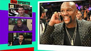 Floyd Mayweather Flosses Another Insanely Expensive Watch | TMZ Sports