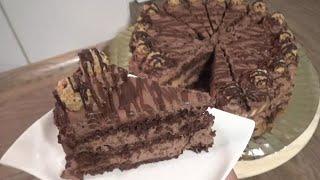 Çikolatalı Yaş Pasta Tarifi(Görüntüsüyle muhtesem bir lezzet)-Hatice Mazi