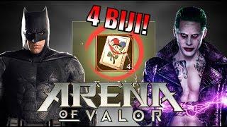DAPETIN 4 KARTU JOKER DGN PAKE MUSUH BEBUYUTANNYA! • Arena of Valor (AOV)