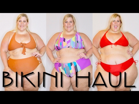 Xxx Mp4 All Dem BIKINIS 2017 Plus Size Swimwear Haul Try On 3gp Sex