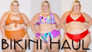 All Dem BIKINIS!!!! | 2017 Plus Size Swimwear Haul + Try On