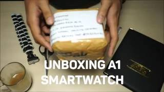 [Video Unboxing] A1 Smartwatch for iOs and Android