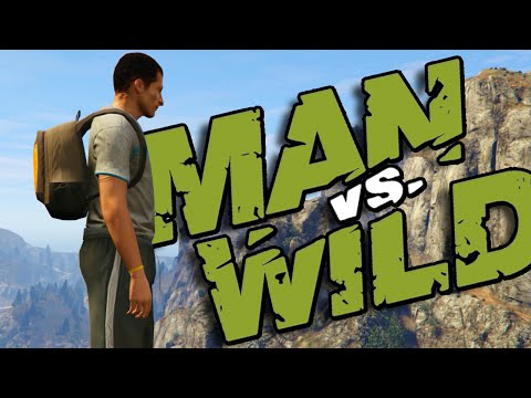 GTA V - A Prova de Tudo com Bear Grylls (Man vs Wild)