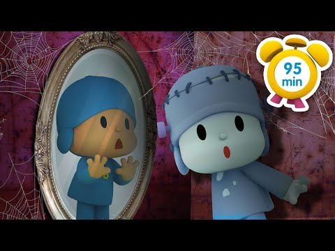 👻 POCOYO in ENGLISH Halloween Mirror 95 min Full Episodes VIDEOS and CARTOONS for KIDS