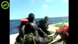 Somali Pirates attacking the wrong ship (French Navy ship lol)