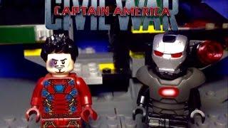 LEGO Captain america Civil War: Airport Battle Movie Clip 1