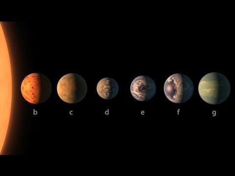NASA & TRAPPIST 1 A Treasure Trove of Planets Found
