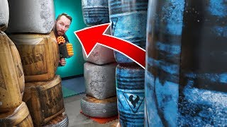 NERF Destroy the Towers Challenge!
