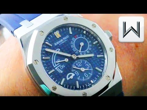 Xxx Mp4 Audemars Piguet Royal Oak Dual Time 39MM Blue Dial 26124ST OO D018CR 01 Luxury Watch Review 3gp Sex