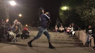 Les Twins   Laurent outside the Palace   Give him his hat back   Shot by Sandy Lee with an iphone