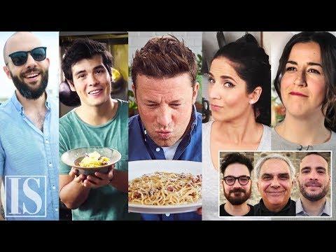 Carbonara reazione degli chef italiani alle ricette più viste al mondo