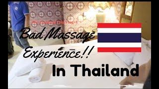 Bad Massage experience in Thailand | Thailand trip Vlogs #1 | LanceGutierrez