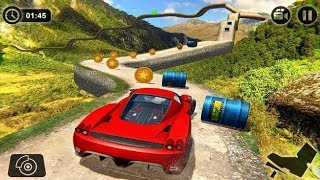 IMPOSSIBLE HILL CAR DRIVING ANDROID GAME PLAY #Car Games To Play #Kids Car Games #Games Download
