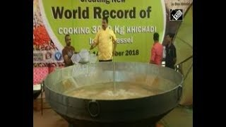India News - India attempts world record by cooking more than 6600 pounds of