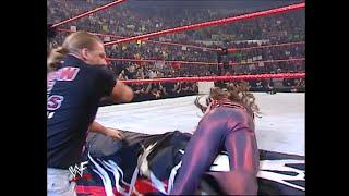 Chris Jericho and Stephanie McMahon ambush Triple H: Raw, March 11, 2002
