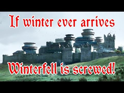 Are the castles in Game of Thrones realistic
