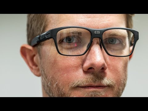 Exclusive Intel s new smart glasses hands on
