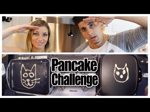 PANCAKE ART CHALLENGE!!