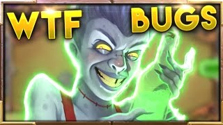 Crazy BUGS and WTF Moments Ep.6 | Hearthstone