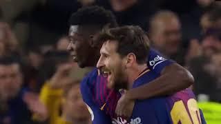 Barcelona vs Girona Full Match Highlights LaLiga Santander 2017-18  18