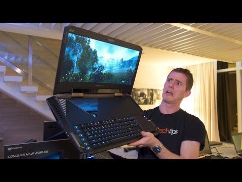 The BIGGEST HEAVIEST Laptop EVER 9 000 Acer Predator 21X