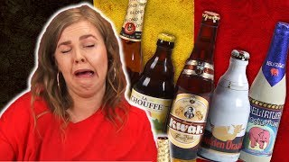 Irish People Taste Test Belgian Beer