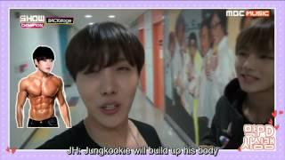[ENG SUB] 151219 BTS- Show champion backstage