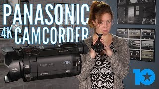 REVIEW: Panasonic 4k Camcorder