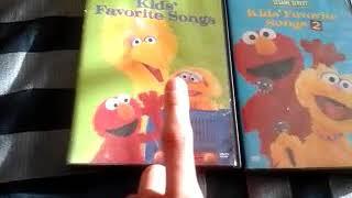 Sesame Street: Kids' Favorite Songs 1999 DVD & Kids' Favorite Songs 2 2001 DVD Double Overview