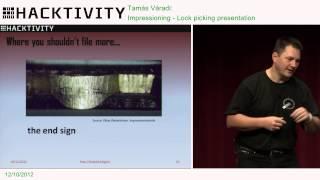 Hacktivity 2012 - Tamás Váradi - Impressioning