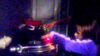 No 1 House DJ in the world DJ Marcelline 7 years scratching.wmv