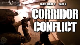 American Milsim Faded Giant 3 Part 2: Corridor Conflict (Elite Force Airsoft Gun 4CRS)