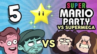 Super Mario Party VS SuperMega: Amazing Athletes - PART 5 - Game Grumps VS