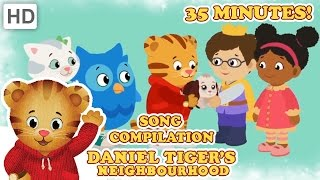 Daniel Tiger – Grr-ific Song Compilation (35 Minutes)