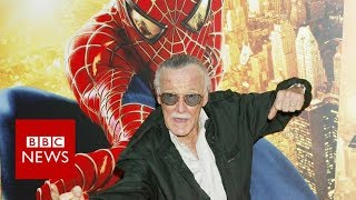 Stan Lee on how he created Spider-Man - BBC News