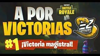 A por VICTORIAS #40 de ESPAÑA en FORTNITE PS4 TRN +467 VICTORIAS