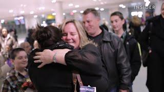 This mom got to hug the woman who saved her son's life.
