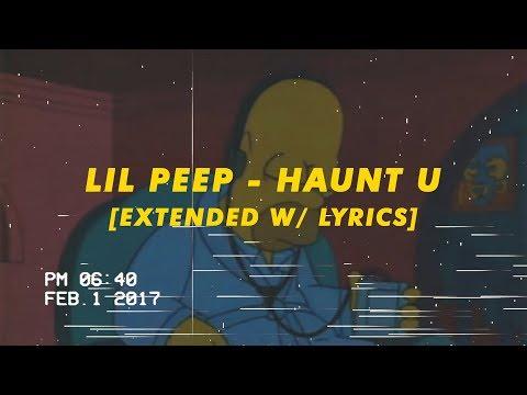 lil peep haunt u extended w lyrics