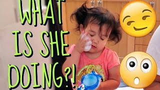 WHAT IS SHE DOING?! - May 24, 2016 -  ItsJudysLife Vlogs