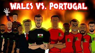PORTUGAL vs WALES 2-0 (Cristiano Ronaldo Goal and Advert Parody)(Euro 2016 Semi-Final)